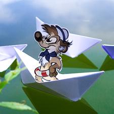 Titash's origami cruise line