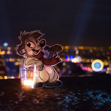 Lyon, December 8th: Light the city